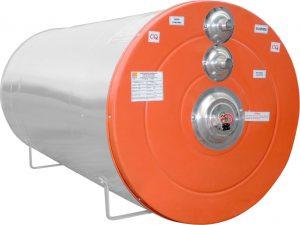 Boiler do aquecedor solar de placas