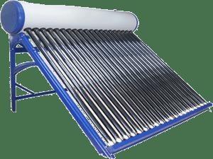 Características do aquecedor solar a vácuo