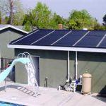 Aquecedor solar da piscina