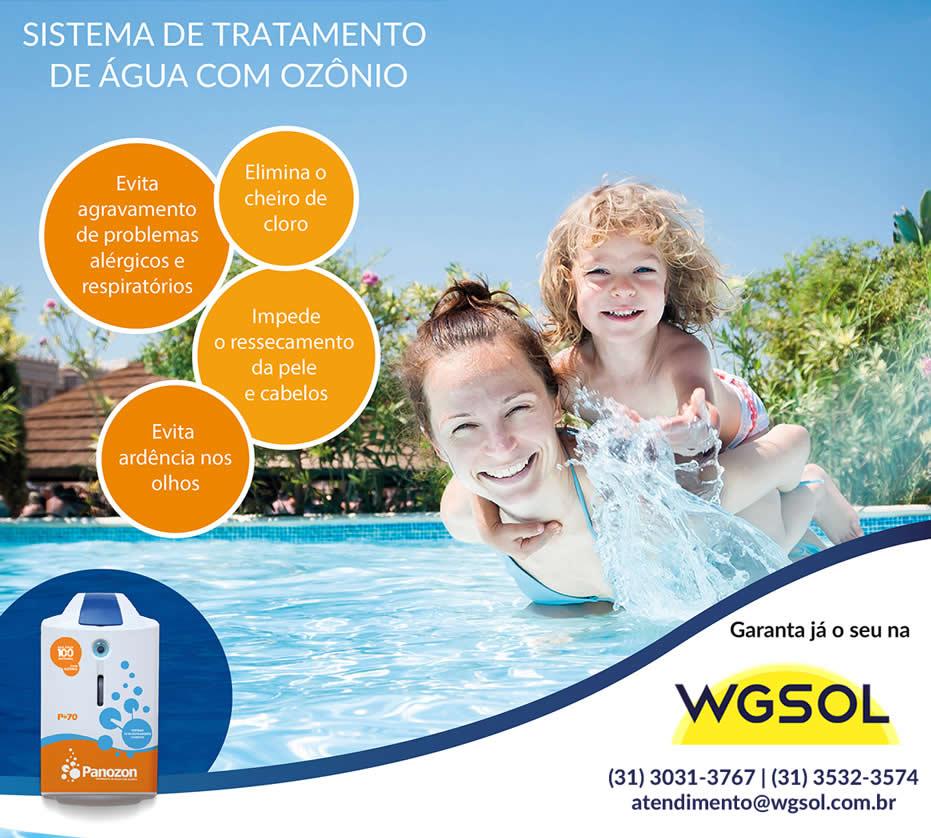 Ozônio para piscinas